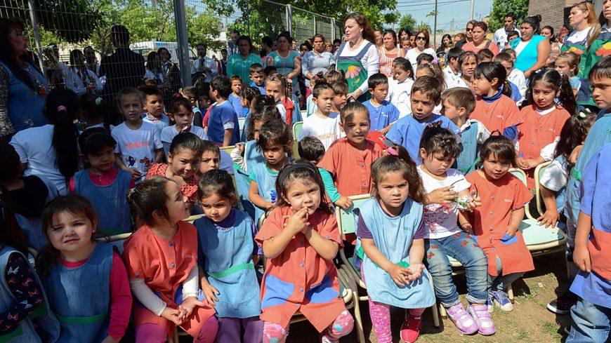 Jard n de infantes jos mar a paz celebr su 50 for Leccion jardin infantes 2016