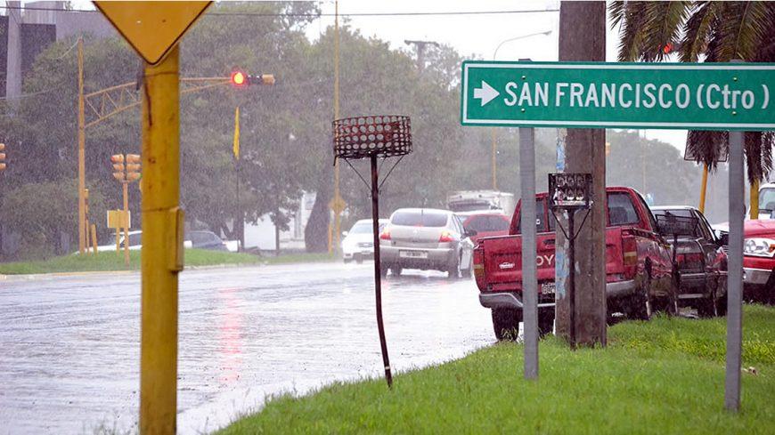 San Francisco 9° en el ranking-provincial de lluvias