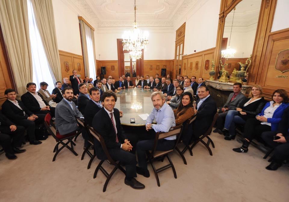 Intendentes y legisladores de la regi n se reunieron con for Ministerio del interior cordoba