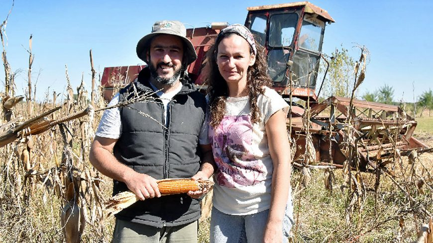 Mauricio y Mabel, productores de granos sin TACC