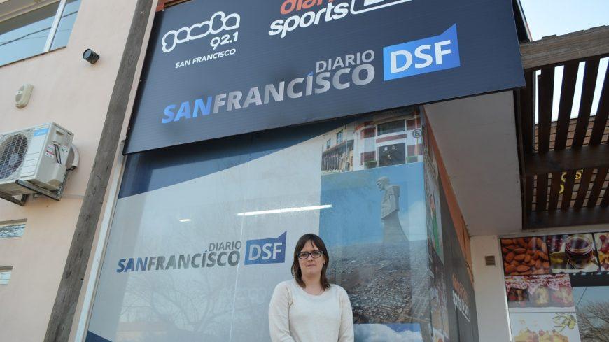 Brenda Austin visitó las oficinas de DSF