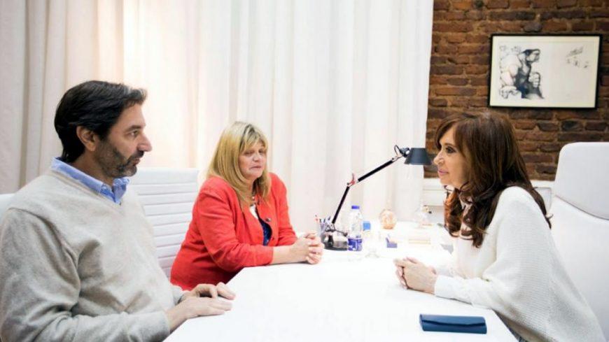 Pablo Carro con Cristina Fernández