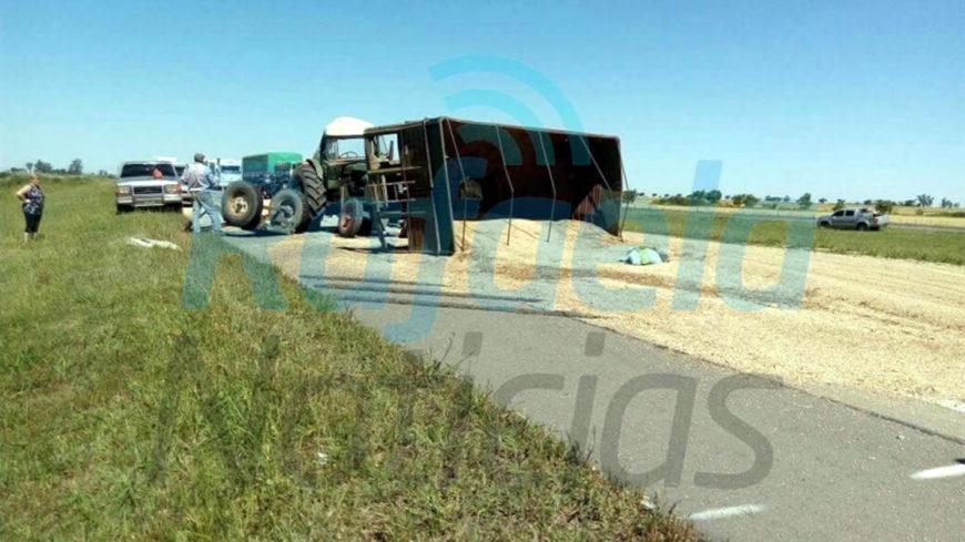 Accidente en la Autovía 19