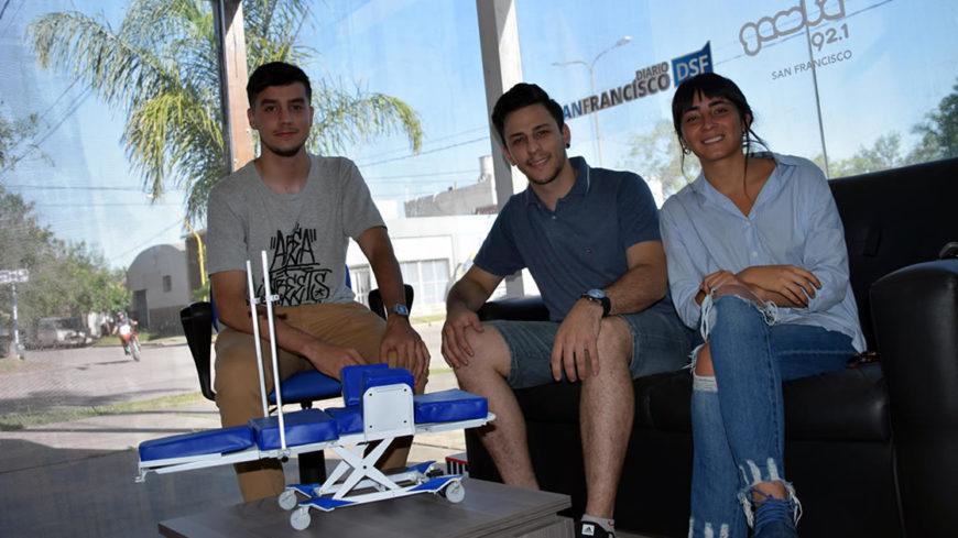 Alumnos de Diseño Industrial