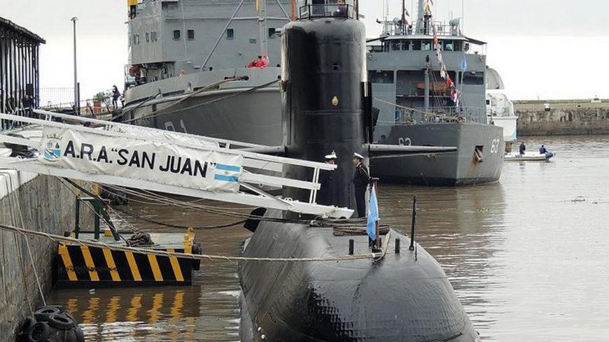 El submarino perdido