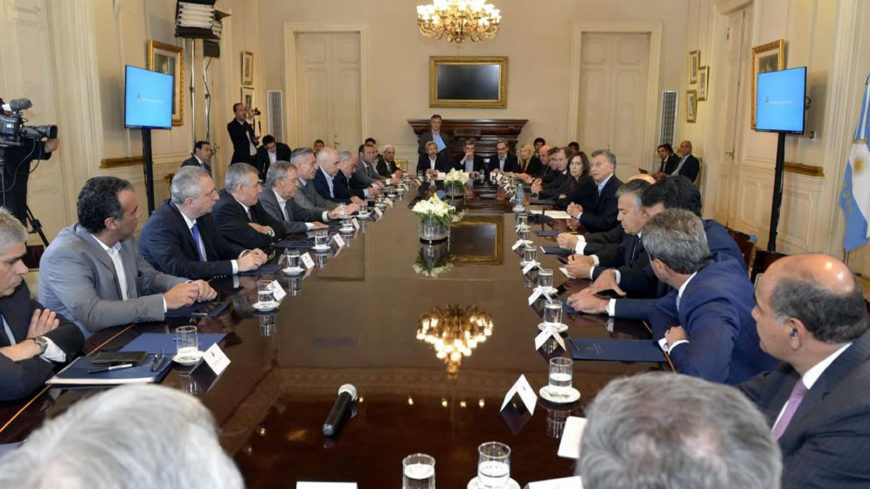 Macri y los gobernadores
