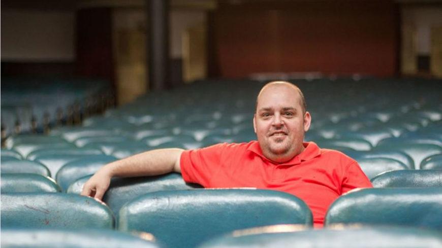 Mauro Reinero, tercera generación familiar a cargo del Teatro