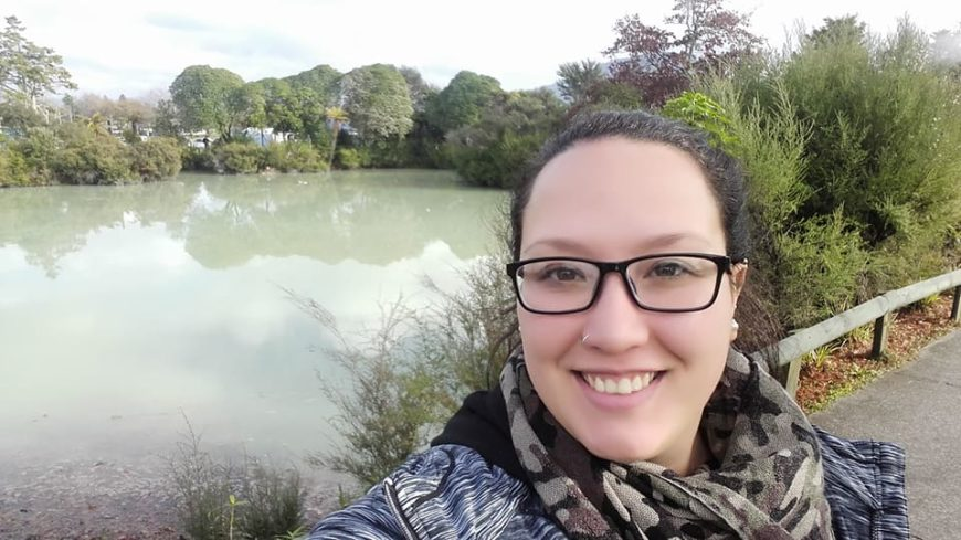 Agustina vive en la isla 'Waiheke', ubicada a unos pocos kilómetros de Auckland.