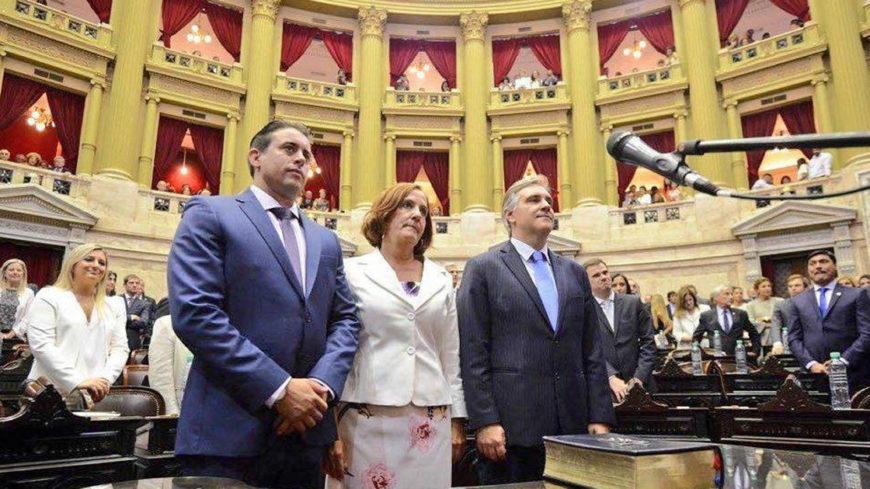 Llaryora juró como Diputado Nacional