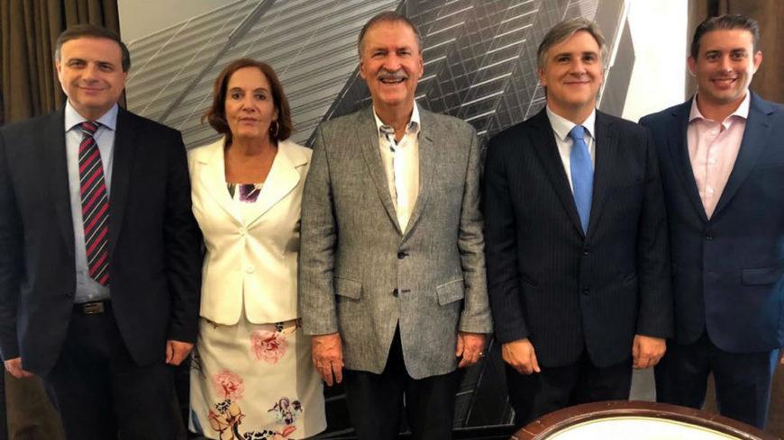 Schiaretti junto a los diputados electos