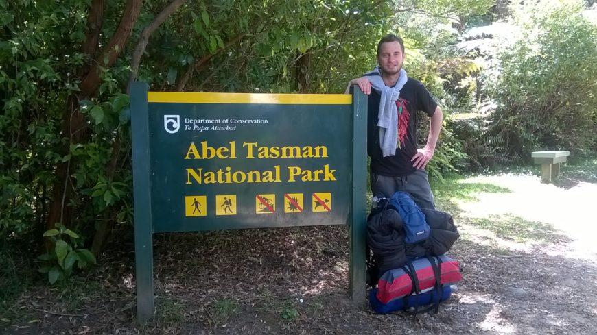 Cada vez que puede, Juan disfruta de la naturaleza y los paisajes que ofrece Nueva Zelanda.