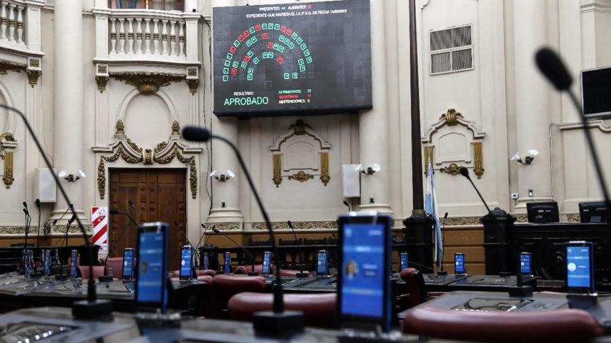 Nuevo sistema de votación en la Legislatura