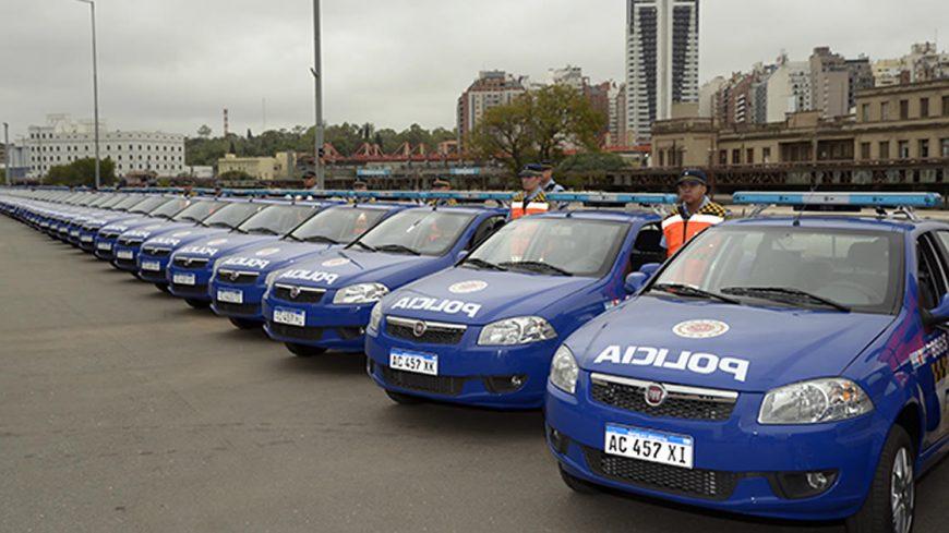 Nuevos móviles policiales