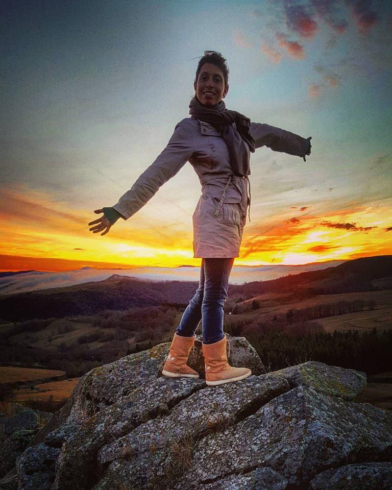 En la región francesa de Ardèche abrió su primer capítulo como viajera.